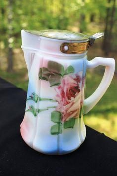 milk glass, vintag glass