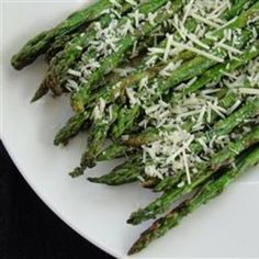 side dishes, olive oils, asparagus recipes, easi delici, food, art recipes, cooking tips, serving dishes, delici asparagus