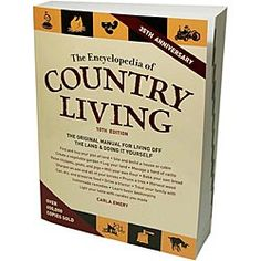 "The Encyclopedia of Country Living Book - New 10th Edition  ""favorite preparedness item from Emergency Essentials,"" $29.95"