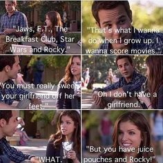 Pitch Perfect. This part made me laugh. A lot!