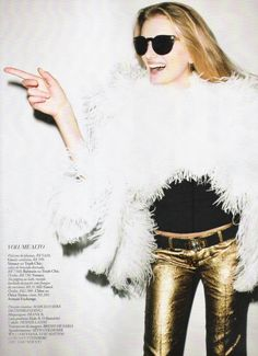 Lily Donaldson for Harper's Bazaar Brazil by Terry Richardson