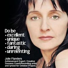 Julie Flanders tips to success // To read the full article, visit: http://cyberprmusic.com/2013/12/25/12-days-of-monetization-60-dos-and-donts-of-monetizing-your-life-in-music-julie-flanders-day-1/