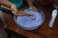 DIY Flubber by thefullmoxie #DIY #Kids Flubber #thefulllmoxie