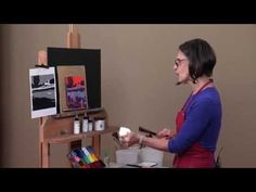 Acrylic Painting Color Techniques, Fast, Loose and Bold - YouTube