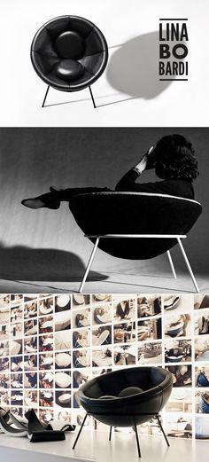 Bowl armchair by Lina Bo Bardi.#interior #design #furniture #casadevalentina
