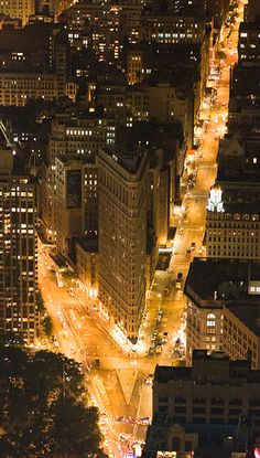#Flatiron Building #Manhattan #New_York
