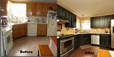 Our House Where the food magic happens!!……A Before/After Kitchen Reveal