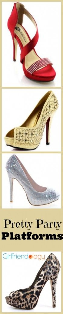 Perfect party platforms! #shoes #holidays #christmas