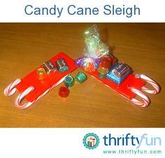 Craft: Candy Cane Sleigh