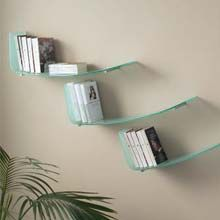 Glass bookshelf by Idealsedia | Spacify Contemporary and Modern Furniture