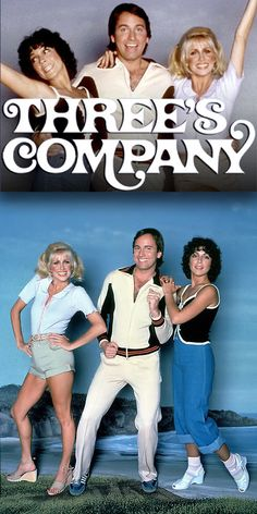 Three's Company (1977-84, ABC) starring John Ritter as 'Jack Tripper', Joyce DeWitt as 'Janet Wood' & Suzanne Somers as 'Chrissy Snow' (1977-81)