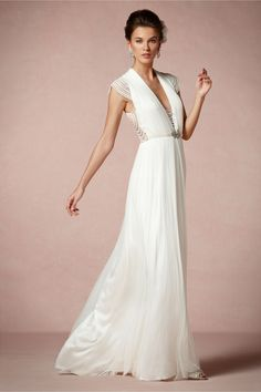 Ortensia Gown in Bride Wedding Dresses at BHLDN