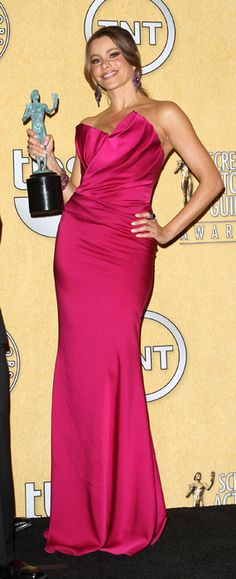 Sofia Vergara, Lea Michele: Sexy SAG Awards style