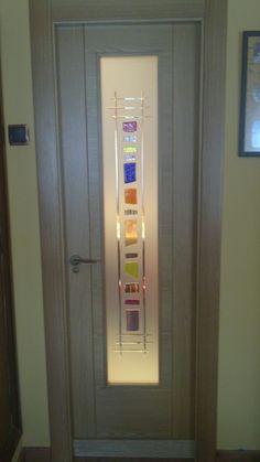 Cristales para puertas on pinterest - Cristales puertas salon ...