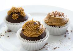 Coffee chocolate gluten free cupcakes