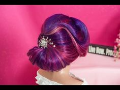 Hairs by Christine Frank - YouTube  Beautiful Updo for Wedding.....
