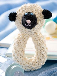 Crochet Lamb Rattle