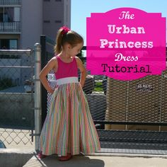 the urban princess dress sewing tutorial diy