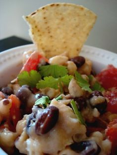 Black & White Bean Dip