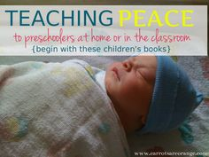 TeachingPeaceintheHome 1 Teaching Peace to Preschoolers {Begin with Childrens Books}