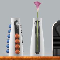 Nespresso coffee machine pods holder