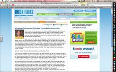 Scholastic Book Fair Insider...check it out for great ideas for your book fair event!