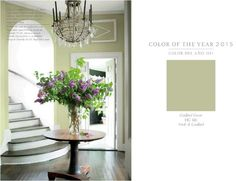Guilford Green - Benjamin Moore Color of the Year for 2015