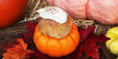 sopapillas w/pumpkin whipped cream