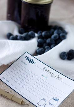 free canning labels and recipe cards @Cameron Blazer industrialist #canninglabels #canning