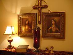 catholic altars, catholic home altar, home altar catholic, cathol altar