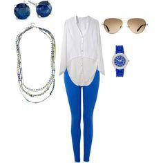 cobalt blue.... love the jeans