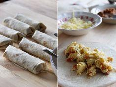 Breakfast Burritos, make ahead and freeze