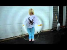 A progression for teaching young children to jump rope.