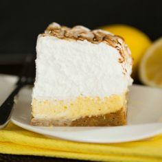 Lemon Meringue Pie Bar Recipe | Brown Eyed Baker