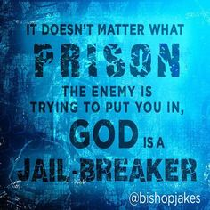 Where the Spirit of the Lord is, there is freedom and liberty. Are you ready to be set free? http://tdjakes.org/watchnow