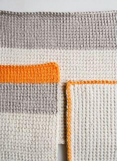 Tunisian Crochet Basics #tunisian #crochet