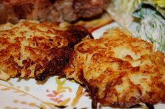 Cauliflower Fritters.. like hashbrowns except healthier