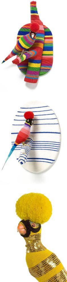 crocheted birds! @laina