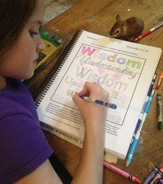 Homeschooling 3: Notgrass Company : Draw to Learn the Bible ~ A Review