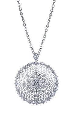 18k White Gold Mediterranean Fashion Necklace