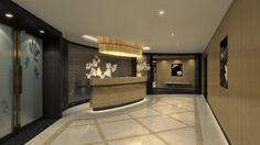 Lotus Spa on Royal Princess  Lotus Spa lobby