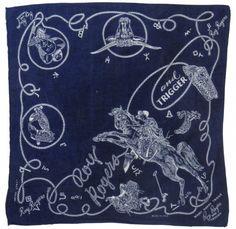 Roy Rogers vintage bandana.