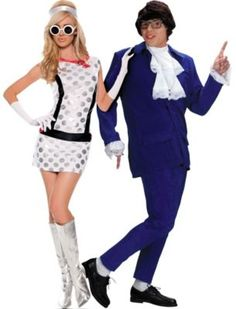 Austin Powers Couples Costumes