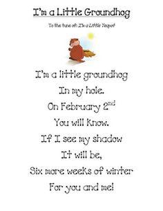 holiday, classroom, song, februari, music activities, educ, poem, kid, groundhog day