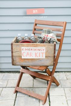 Father's Day Gift Idea, DIY Emergency Car Kit   Photography: Ruth Eileen - rutheileenphotography.com