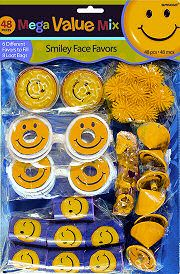 Smiley Face Mega Party Pack