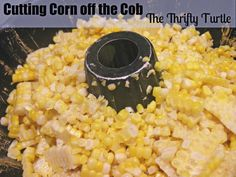 Kitchen tips for cutting corn off the cob, spraying pans and keeping pots from boiling over!