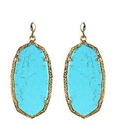 scott daniell, fashion, style, accessori, kendra scott, turquois, jewelri, daniell earring, earrings