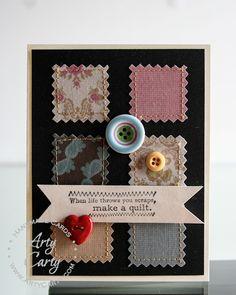Designed by Stephanie Lee using Vintage Verses stamp set