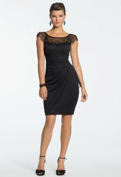 Beaded Yoke Dress from Camille La Vie and Group USA